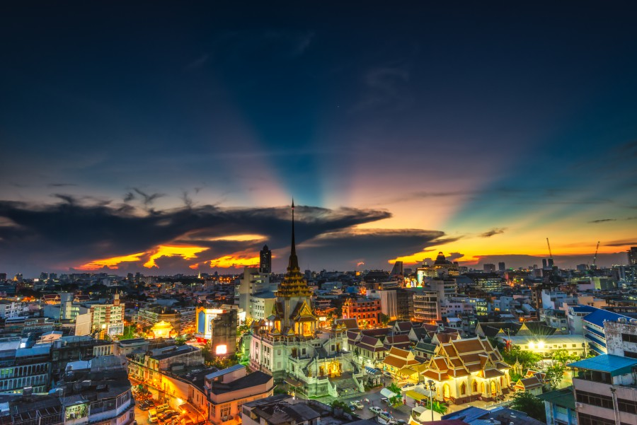 Bangkok Rising to Tourism Challenge