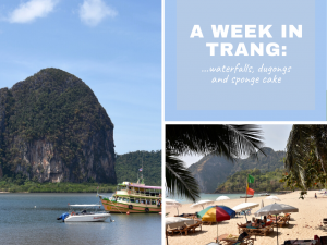 A week in Trang: waterfalls, dugongs and sponge cake