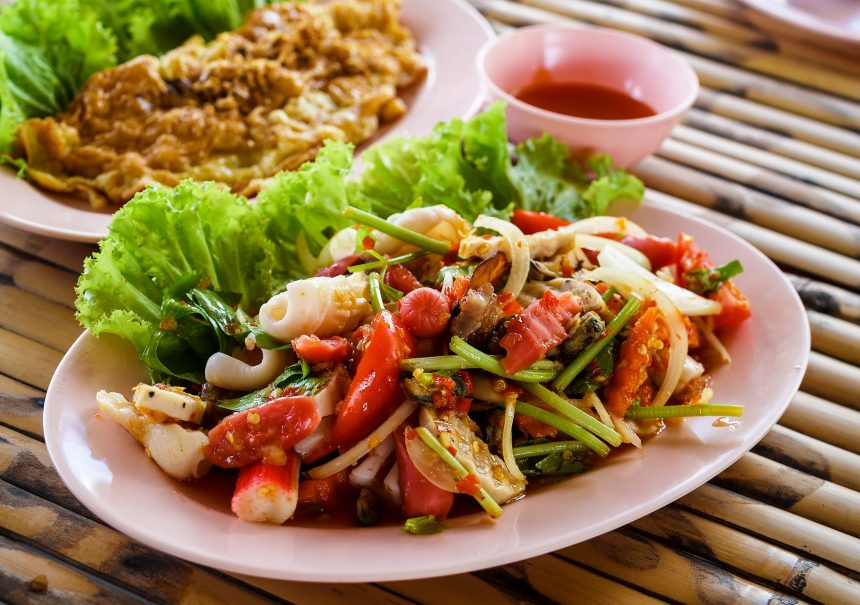 Thai Food: Where are the chopsticks?